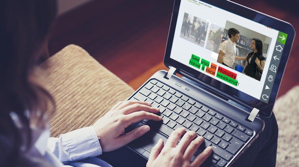 los cursos online de idiomas con el reconocimiento de voz mas innovador del mercado