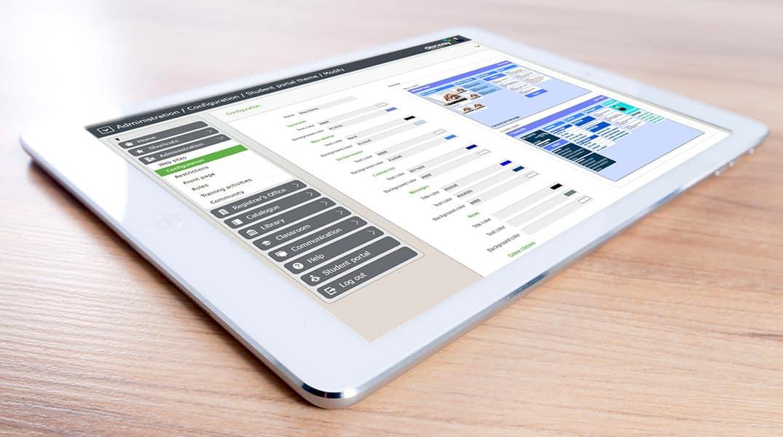 plataforma educativa incorpora nuevos temas visuales personalizables