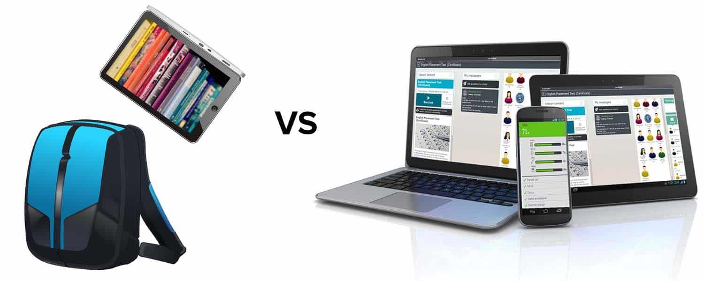 mochila digitalb vs plataforma de aprendizaje