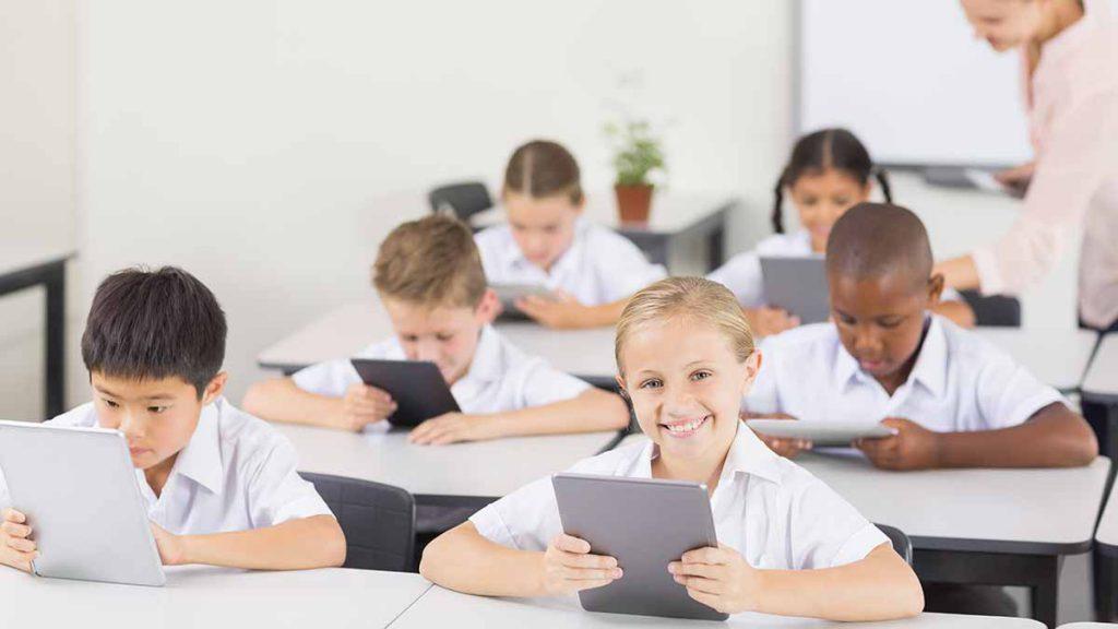 Apps para tabletas en el colegios
