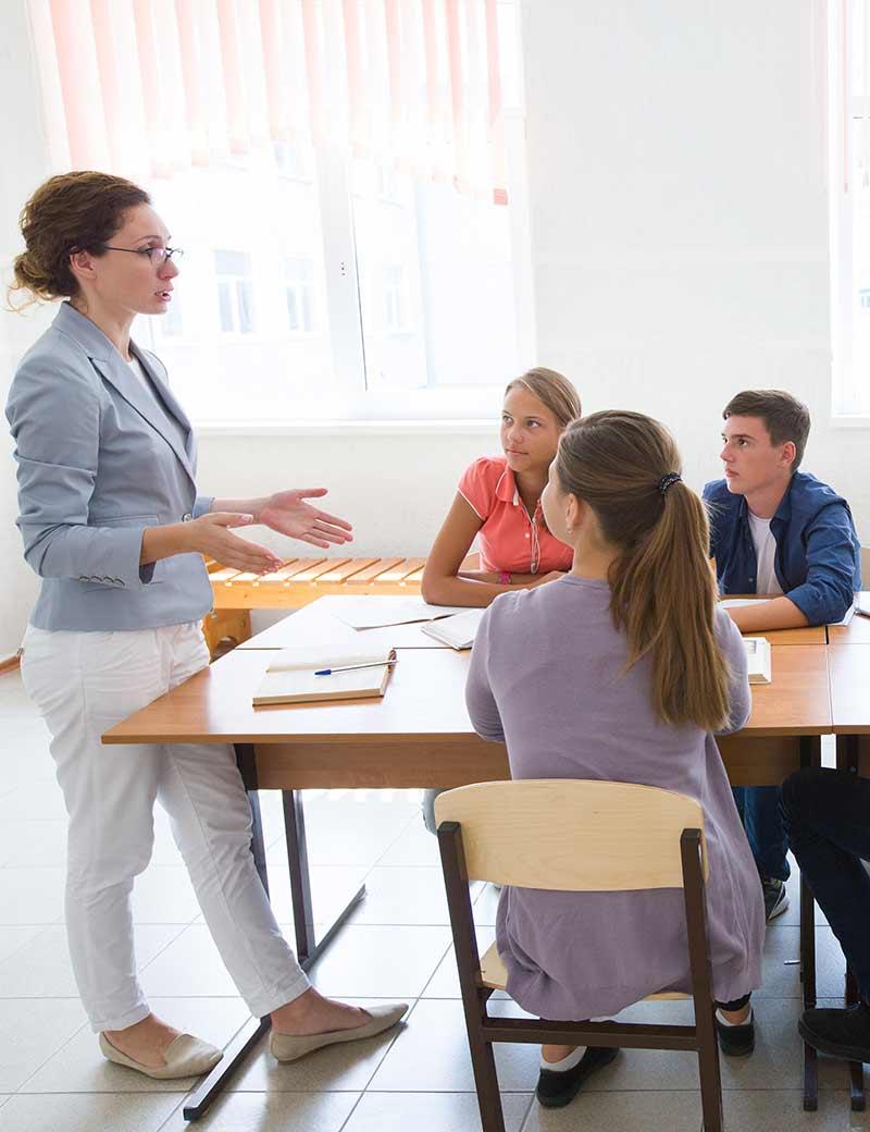 Encuesta sobre e-learning para centros de idiomas