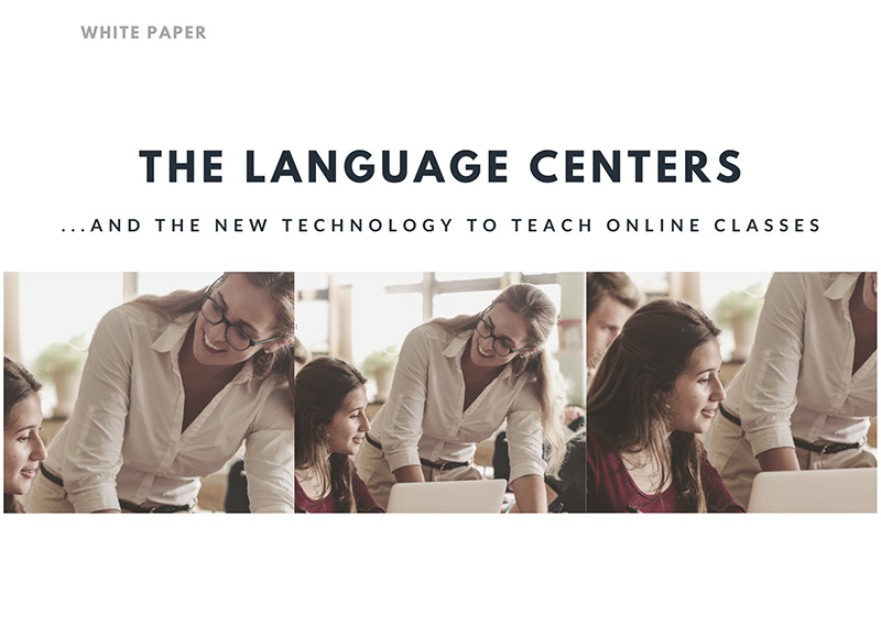 White Paper about language centers